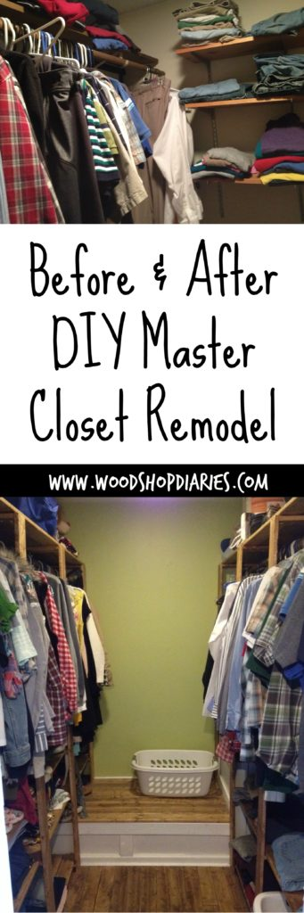 Chaos Over Christmas Break--How we Remodeled Our Closet Over Christmas Weekend