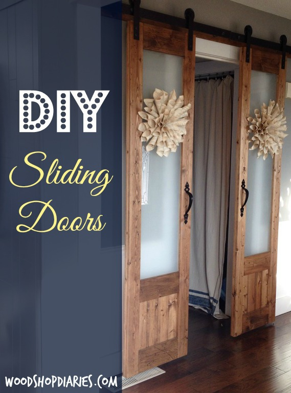 Dress up the mess sliding doors to laundry room for Laundry room sliding doors