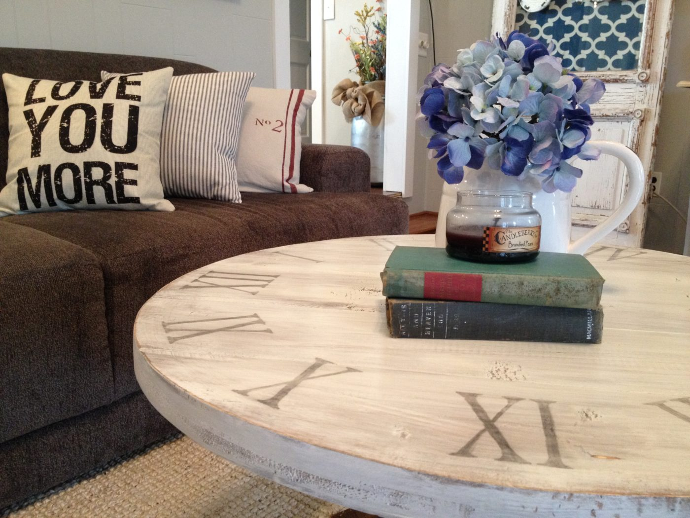Round and Round We Go The Story of my DIY Coffee Table