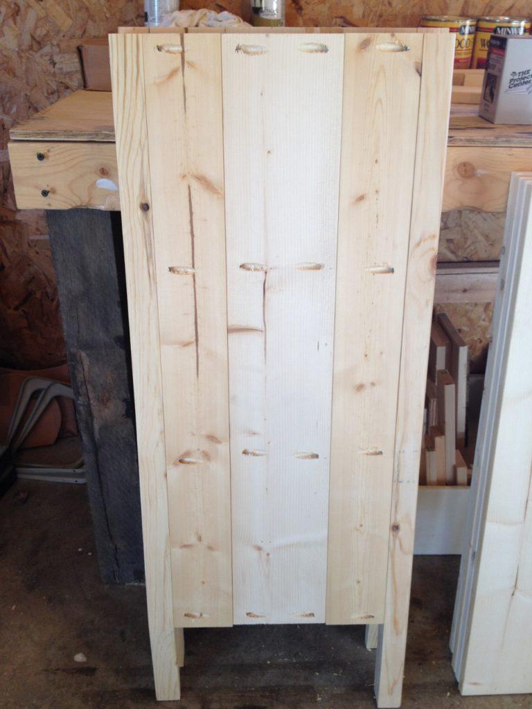 Coffee cabinet side panels