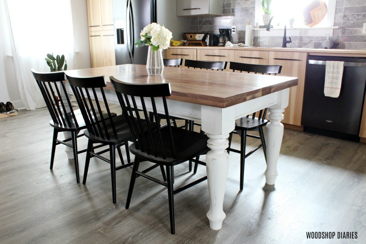 How To Build A Simple Diy Wooden Table Top The Way