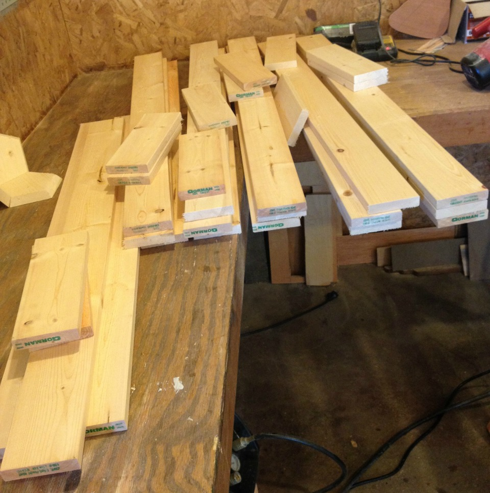 wood for shutters cut to size