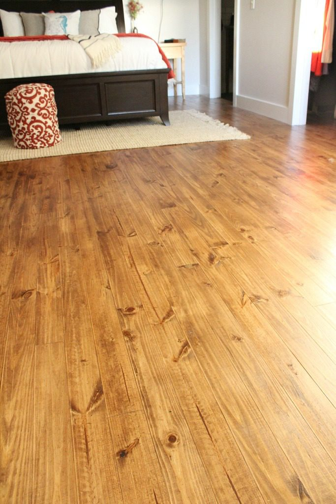 How we installed real wood floor for $1.50 per square foot