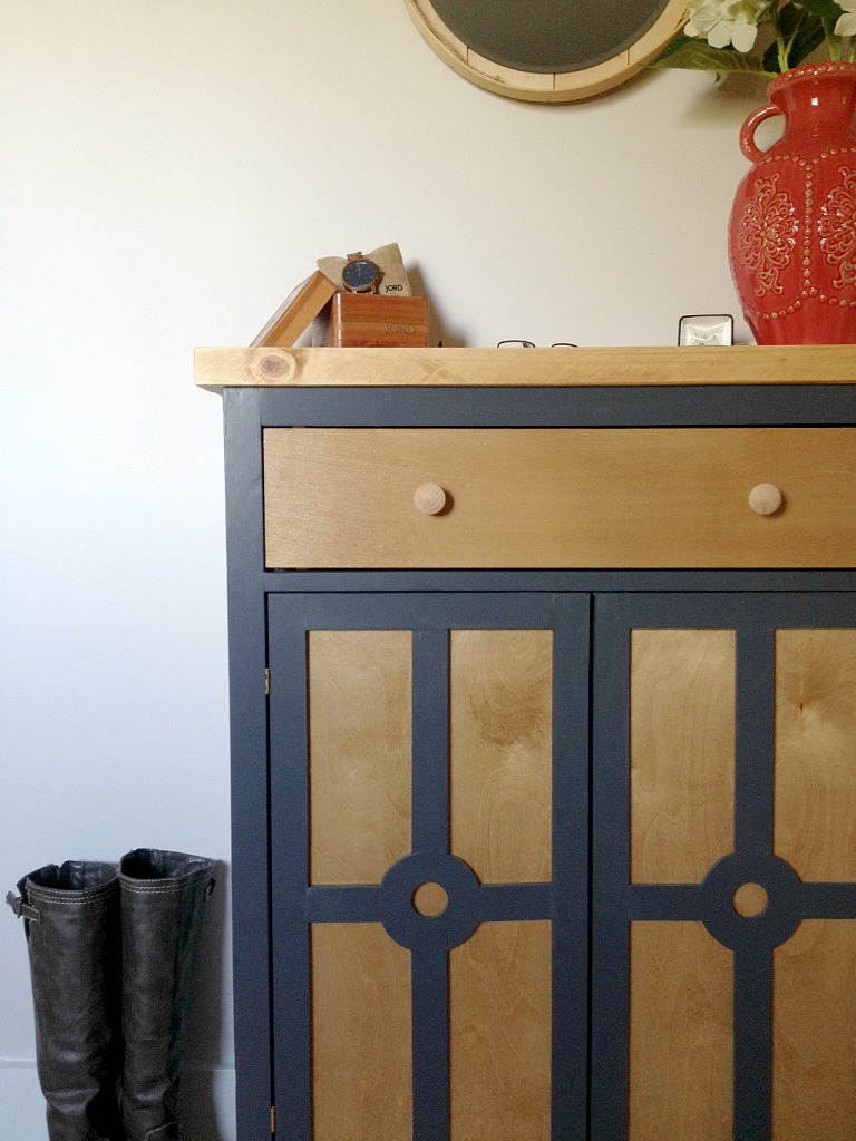 Foyer Diy Jewelry : Diy entryway cabinet and a giveaway