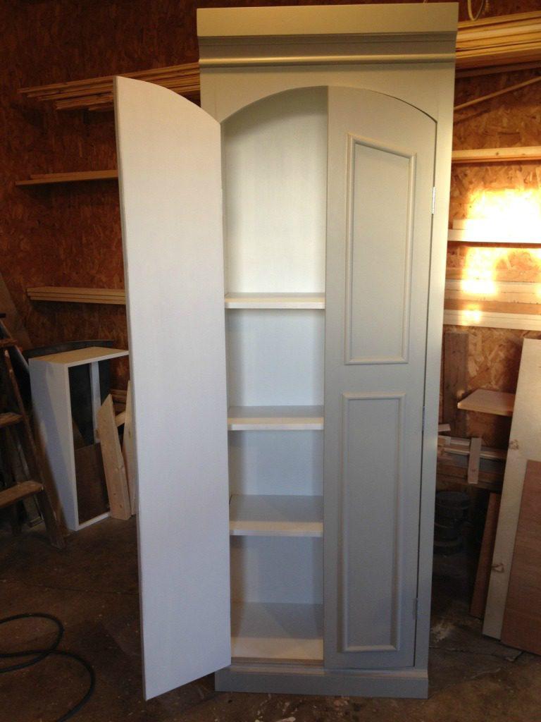DIY Ballard Designs Knock Off Pantry Cabinet