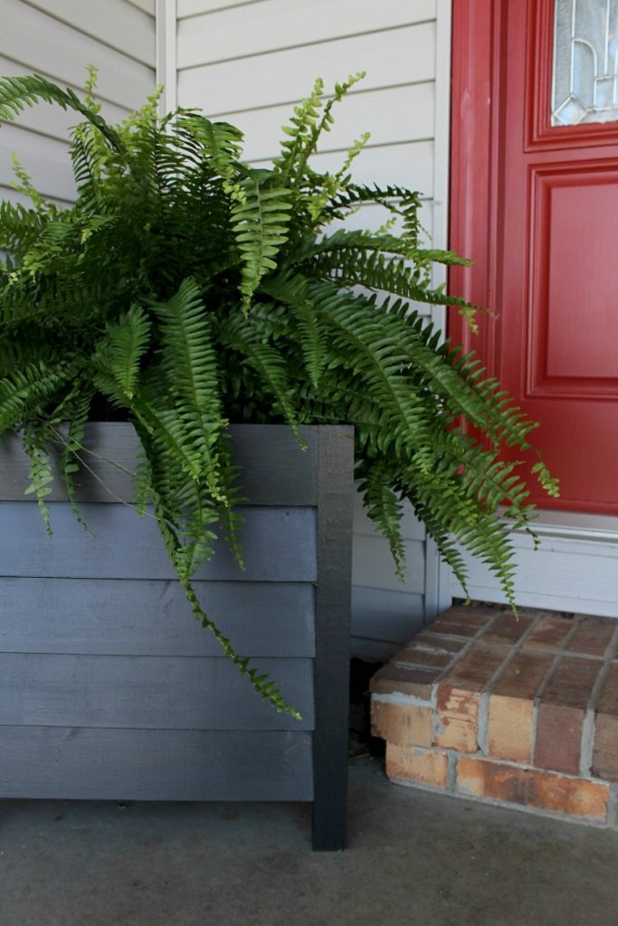 How to make Simple Louvered Wood Planter Boxes