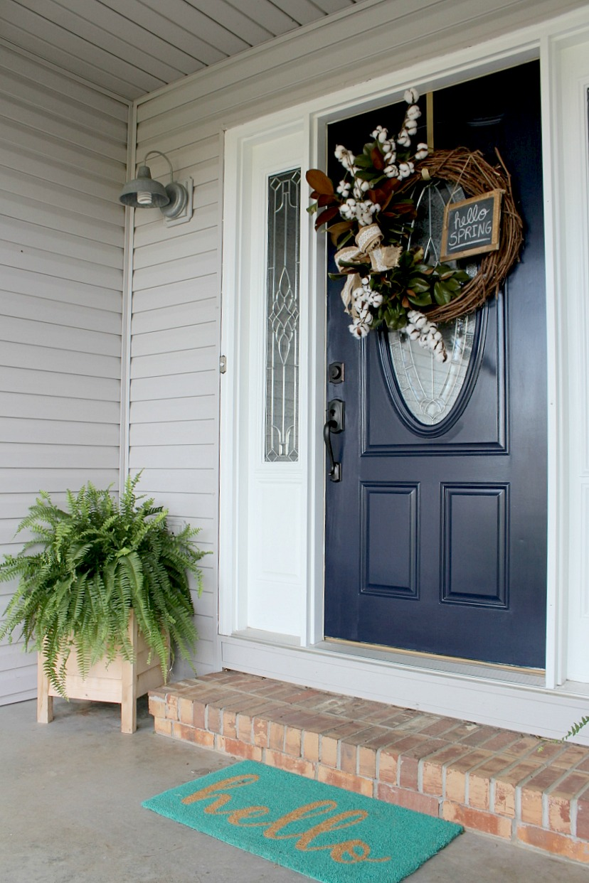 Let S Take This Outside A Front Door Refresh Worthy Of