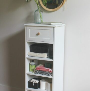 DIY Easy Storage Cabinet