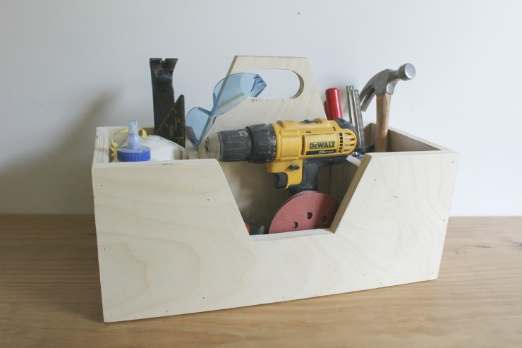 How to build a Scrap Wood Carrying Caddy--for Tools