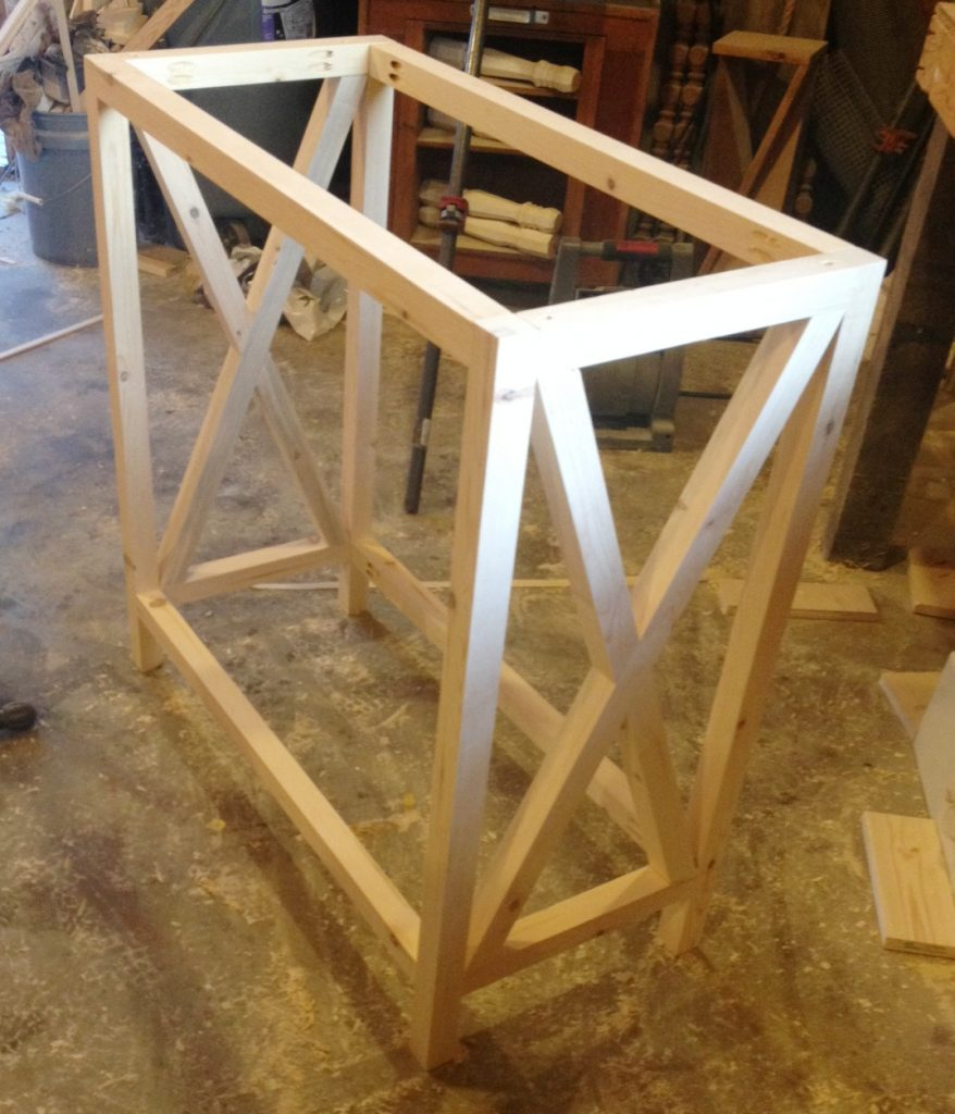 How to Build an X Base Console Table