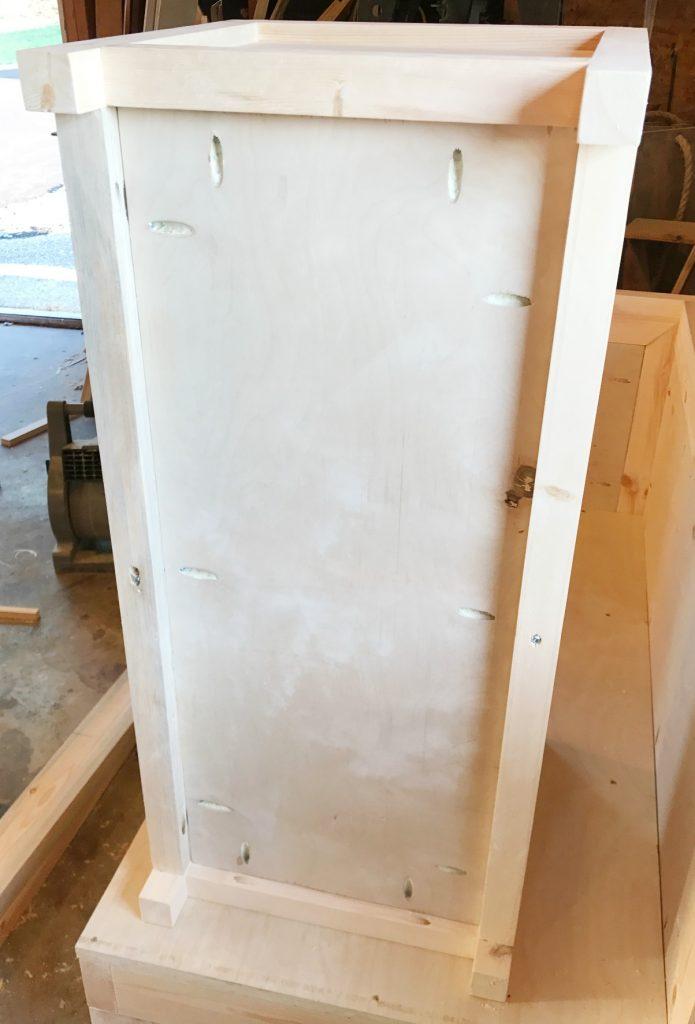 Add bottom to DIY Storage Chest