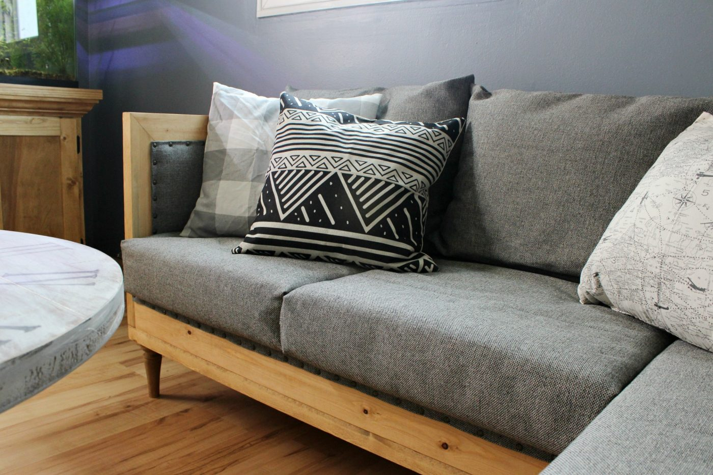 Diy Couch How To Build And Upholster Your Own Sofa