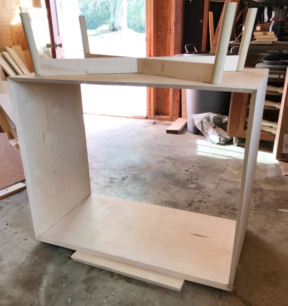 how to build a DIY mid century modern dresser