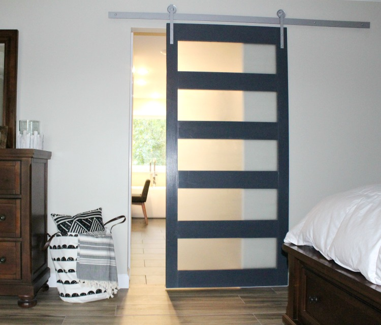 How To Build A Diy Modern Sliding Door