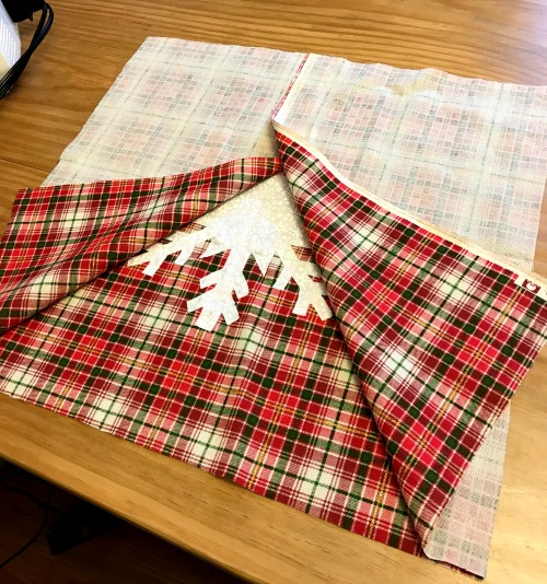 How to sew a DIY snowflake pillow cover