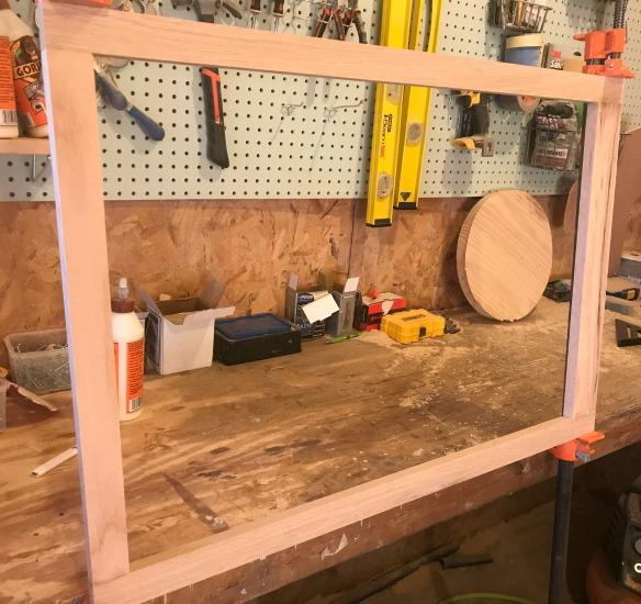 Build face frame for DIY Shelf Cabinet
