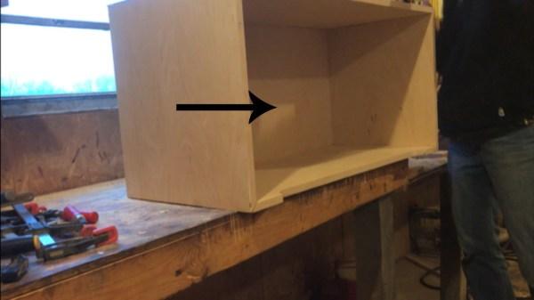 Insert bottom of storage trunk chest box