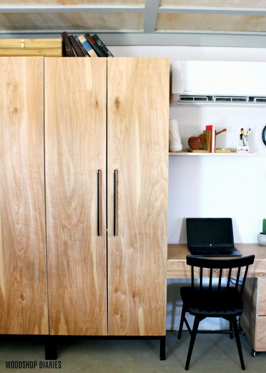 How to Build Stand Alone DIY Closet Cabinets