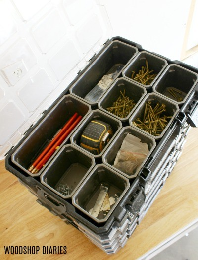 Small parts organizers--gift ideas for dads on the go
