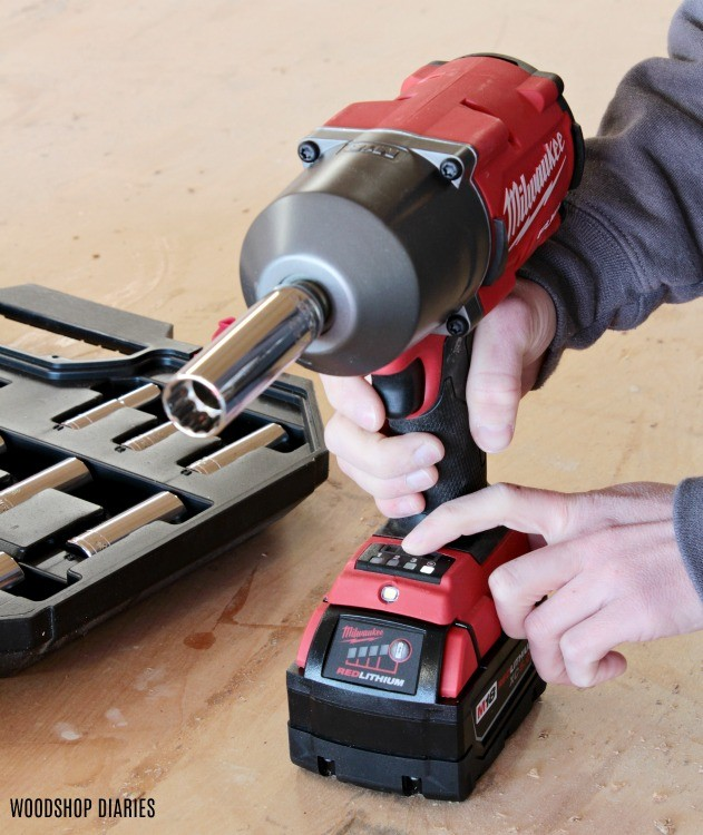 Milwaukee impact wrench adjustable settings for speed and torque