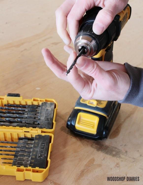 adjustable chuck on standard drill