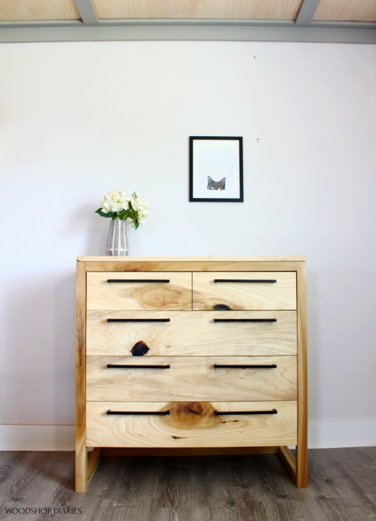 Overall view of entire poplar Modern dresser