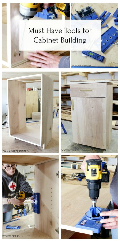 Must have tools for cabinet building pin image collage