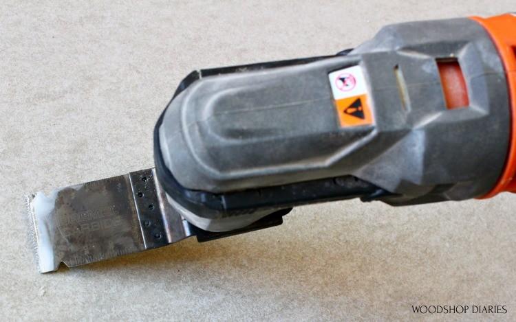 Dremel Blades for Multi Max Oscillating Saw Flush Cut