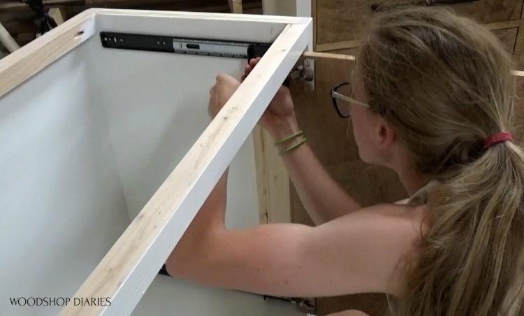 Installing doors onto pocket door slides