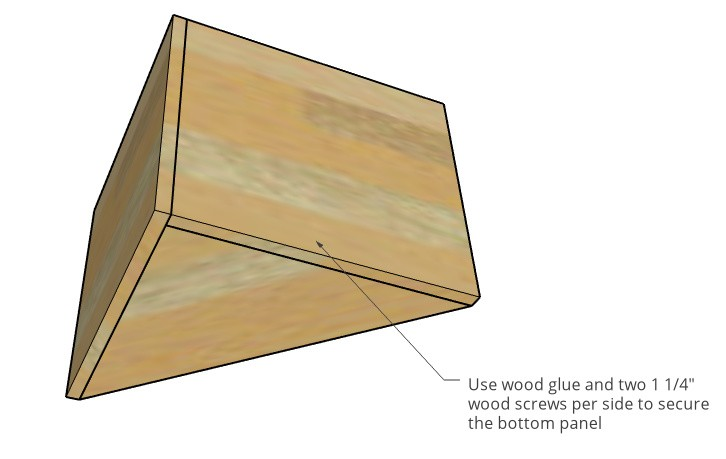 Nesting table cubby seat back attaches to bottom diagram