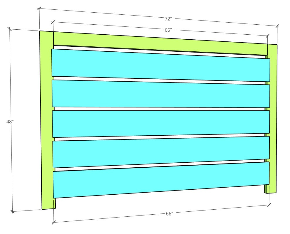 Long fence side dimensions in diagram
