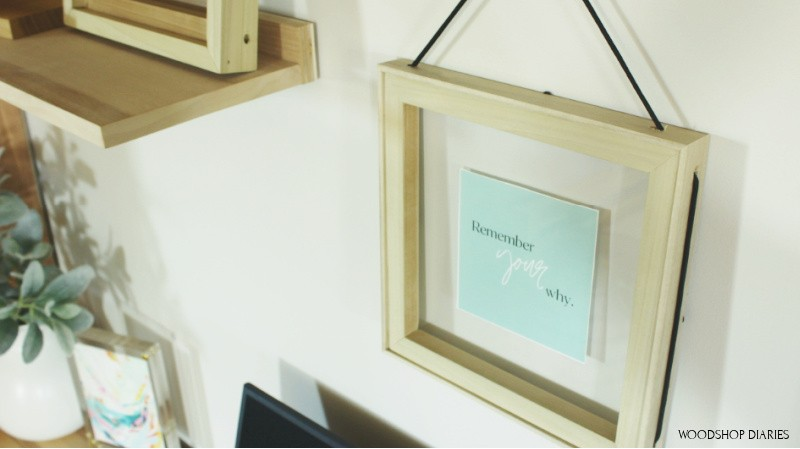 3 ways to make an easy DIY picture frame--with square dowel and lattice trim