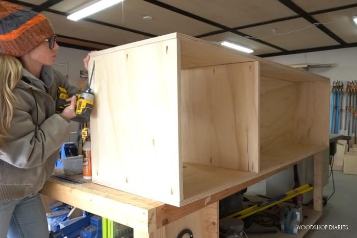 Assemble garage storage organization cabinet
