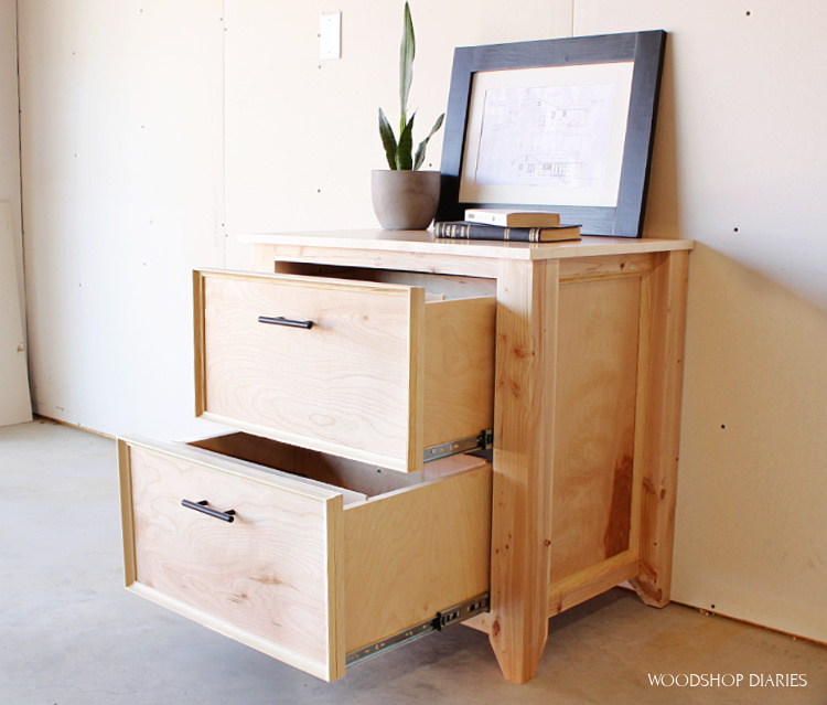 Diy File Cabinet Woodworking Plans To, Filing Cabinets For Home