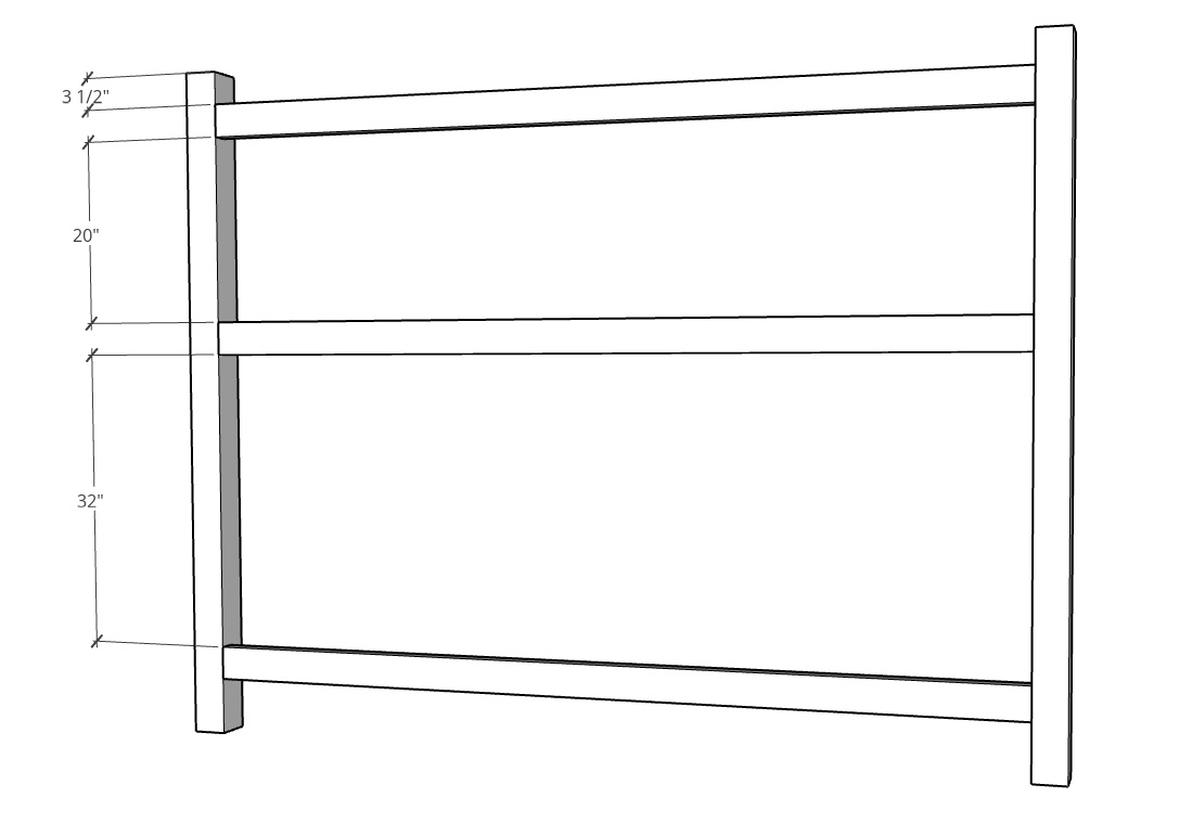 Slat spacing for privacy fence