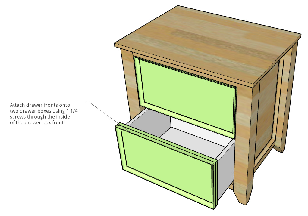 Diy File Cabinet Woodworking Plans To, Wood File Cabinet Plans Free